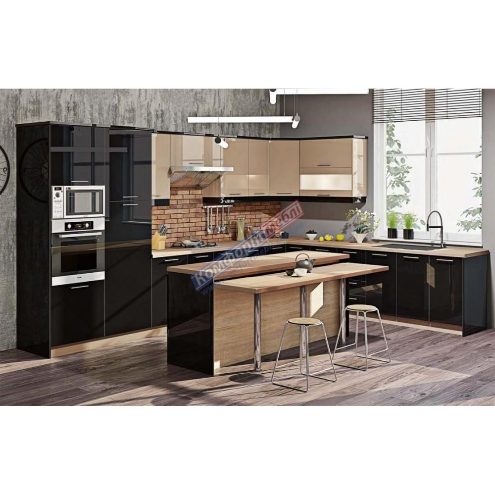"""Кухня """"Крашеный высокий глянец"""" KX-6725"""