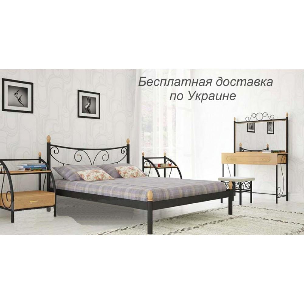 Кровать металлическая Луиза 1600*2000
