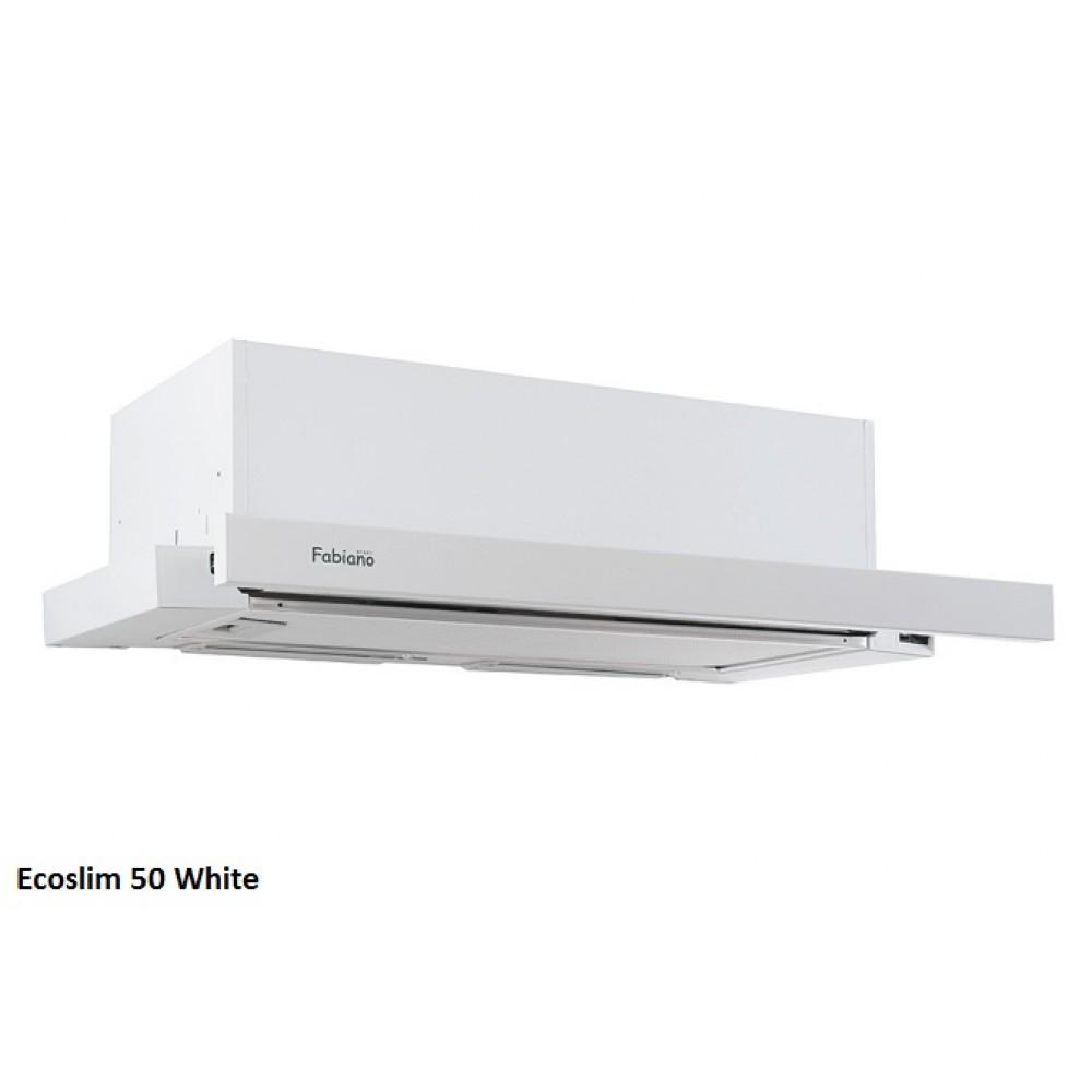 Встраиваемая вытяжка Ecoslim 50 WHITE