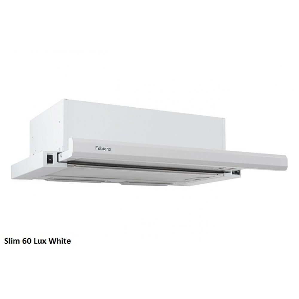 Встраиваемая вытяжка Slim 60 Lux WHITE