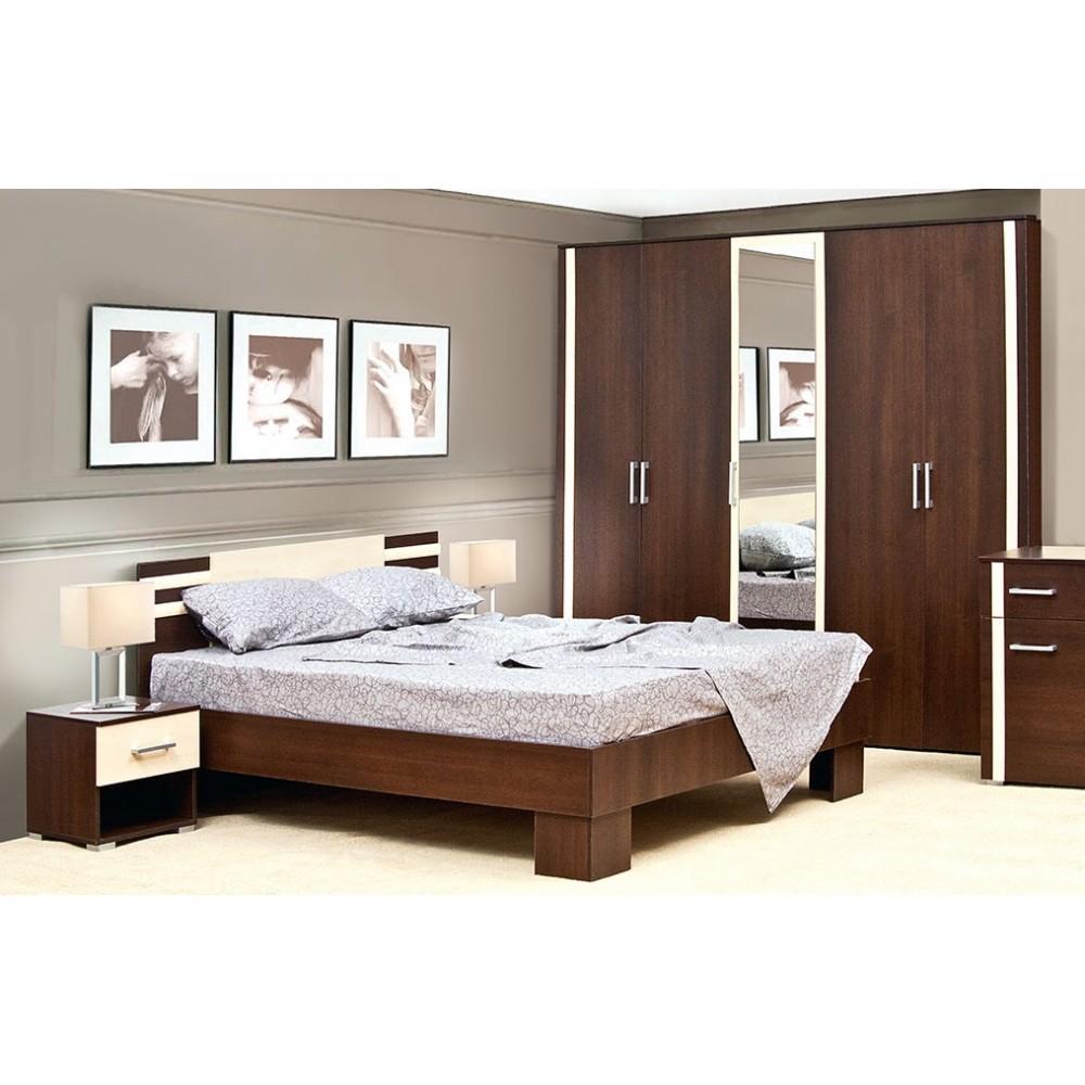 Спальный гарнитур Кровать Элегия 1,60