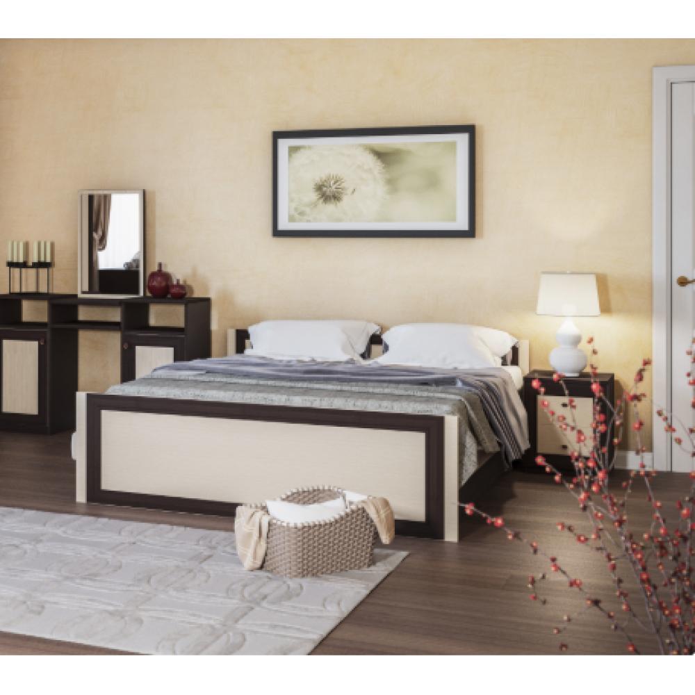 Гарнитур спальный Кровать Лотос 1,60