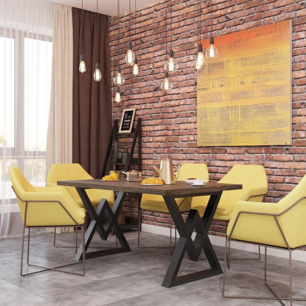 Стол обеденный Астон 1600*800 (Лофт)
