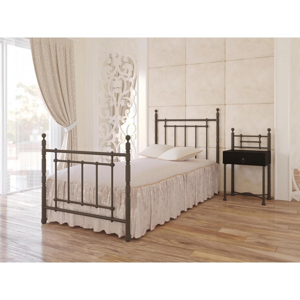 Кровать металлическая Неаполь мини 900*2000
