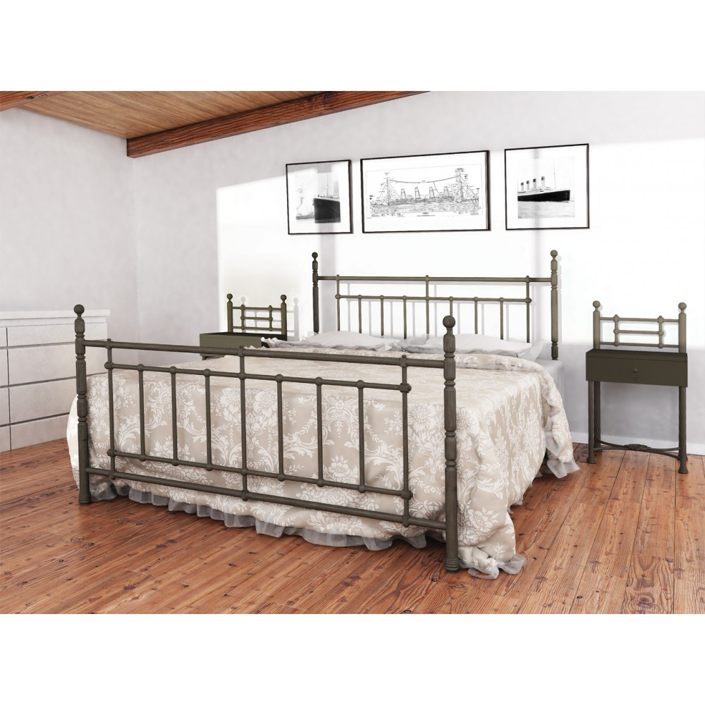 Кровать металлическая Неаполь 1600*2000