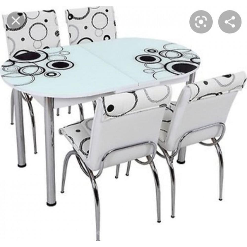 Стол овальный+4 стула