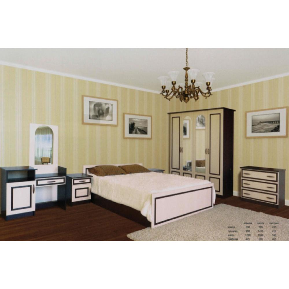 Спальный гарнитур 4Д комплект Ким